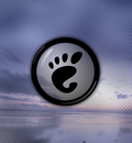 GNOME Sunset blue 1280x1024