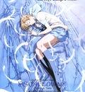 Escaflowne movie poster Hitomi sleeping