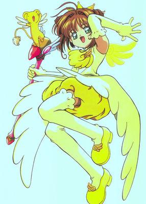 Cheerio! 2   Sakura yellow costume jumping