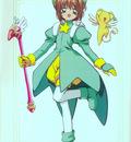 Cheerio! 2   Movie   Sakura Green Costume Pose