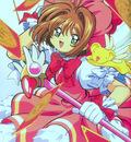 Cheerio! 2   Sakura Red Dress with Kero