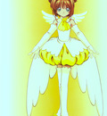 Cheerio! 2   Sakura Yellow Costume