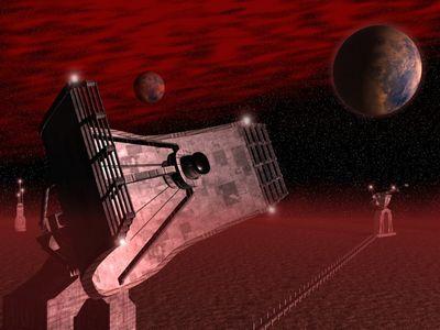 Space Fiction Centurion   1024x768