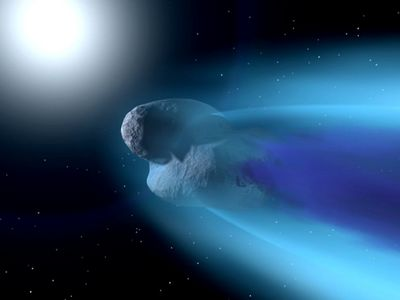 Space Fiction Close Comet 1   1024x768