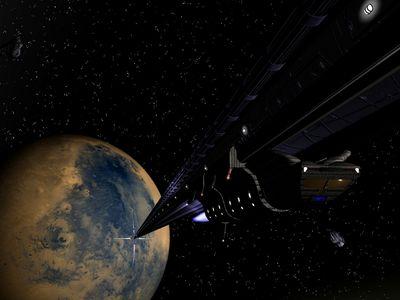 Space Fiction System Rail   1024x768
