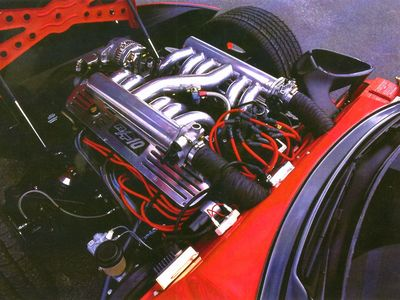 Dodge Vi+pt Car Engine