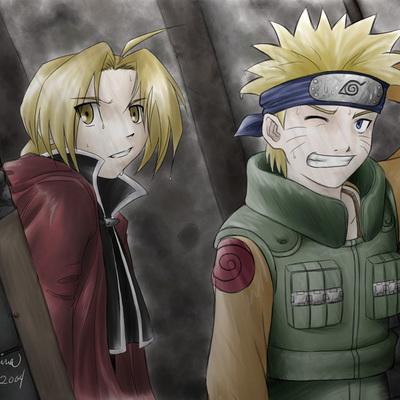 Collab Rose 7 Naruto and Ed