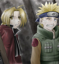 Collab Rose 7 Naruto and Ed