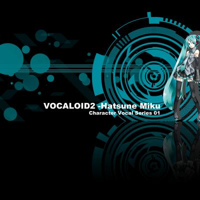black hatsune miku vocaloid