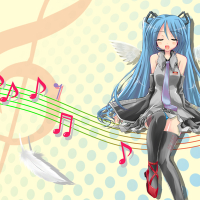 hatsune miku vocaloidings yellow