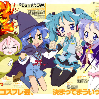 cosplay hatsune miku hiiragi kagami hiiragi tsukasa izumi konata kusakabe misao luc~0