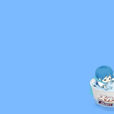 blue kaito vocaloid