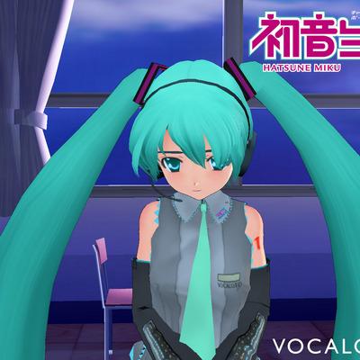 3d hatsune miku vocaloid