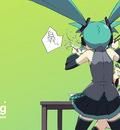 green hatsune miku kagamine rin kanzaki hiro vocaloid