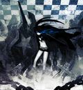 black rock shooter hatsune miku vocaloid