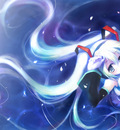 hatsune miku twintails vocaloid