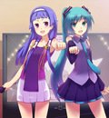 crossover hatsune miku kannagi crazy shrine maidens nagi vocaloid