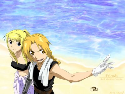 FMA Beach Friends