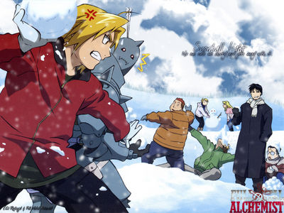 FMA Snow Fight