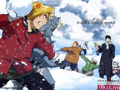 FMA Snow Fight