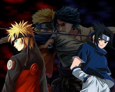 naruto vs sasuke large