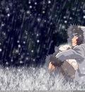 Kiba Akamaru Rain