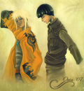 Naruto and Lee    by orin
