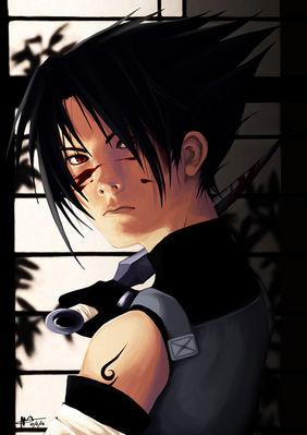 Anbu Sasuke XD