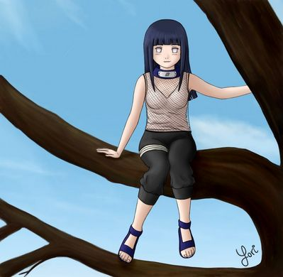 Hinata by Helinille