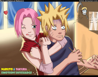 Naruto and Sakura Emo Dis by Zahik