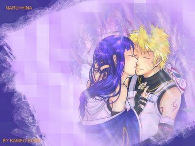 naru and hina in love
