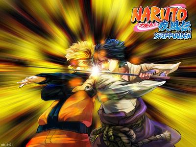 naruto vs sasuke by