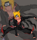 AKatsuki Team 7  Naruto by vinrylgrave