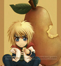 Chibi Fruit Ninja Yondaime by Red Priest Usada