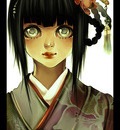 Hinata in Kimono by shirei