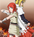 Minato and Kushina by Arya Aiedail