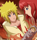 Minato kushina and Naruto by Asriel Chan