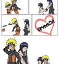 Naruto X Hinata   Smooch   by Acrid