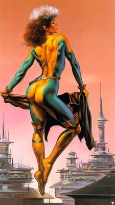 Boris Vallejo   Above the City