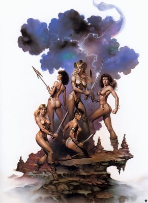 Boris Vallejo   Amazons Queen