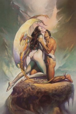 Boris Vallejo   Angel Forever Moments