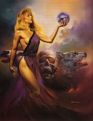 Boris Vallejo   Circe