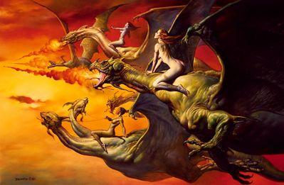 Boris Vallejo   Dragons Quest