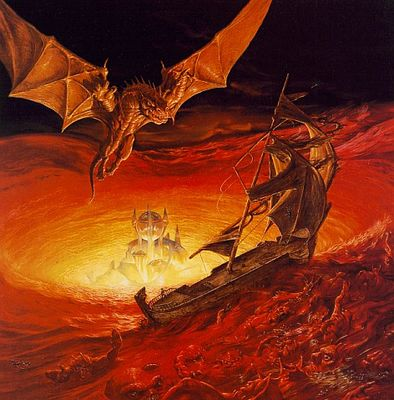 Boris Vallejo   Dragons of faith