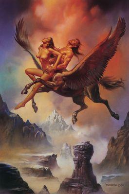 Boris Vallejo   Flying Centaur