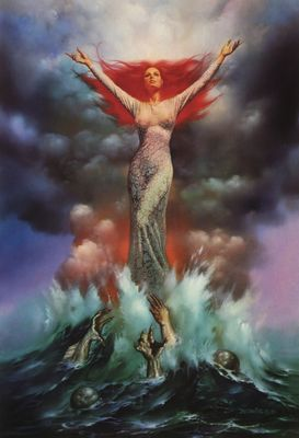Boris Vallejo   Mirage 24 The Bride (1)