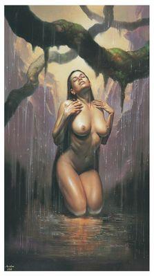 Boris Vallejo   Mistress of the Rain