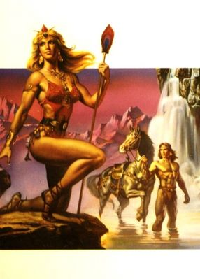 Boris Vallejo   Waterfall