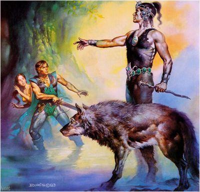 Boris Vallejo   Wolfmaster