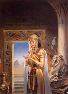 Boris Vallejo   egyptian princess